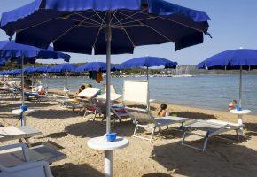 ombrellone hotel porto conte alghero sardegna