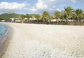 spiaggia privata hotel porto conte alghero sardegna